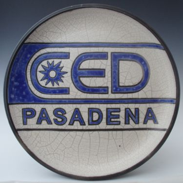 CED Logo Plate